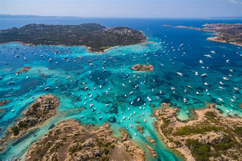 porto della sardegna isola della maddalena sardegna italy dronestagram