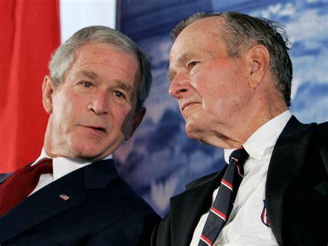 george w bush president 41 bush 41 bush 43 staying out of 2016 election