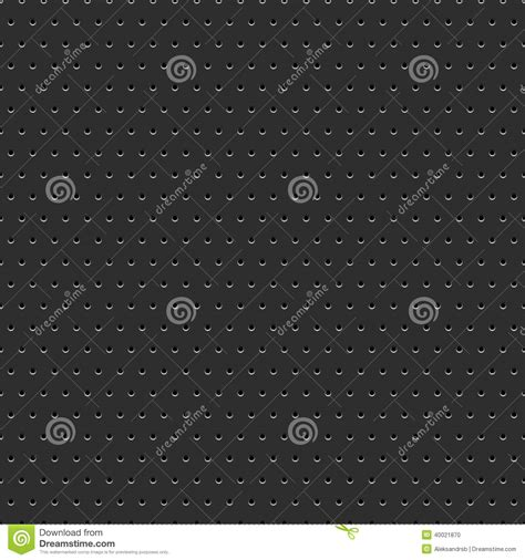 pattern metal illustrator abstract dotted black metal background stock vector