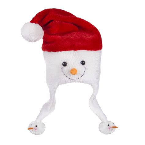 snowman santa hat christmas holidays events