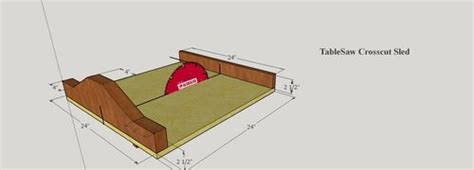 table saw sled dimensions table saw crosscut sled by edwood1975 lumberjocks com