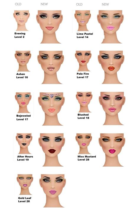 List Makeup Makeover covet fashion makeup makeovers diamondb pinned