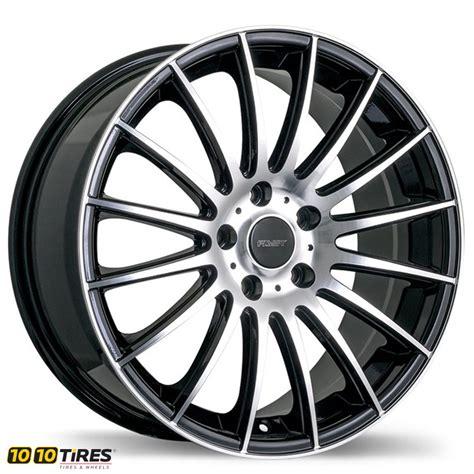Wheels Fast fast wheels rival black 16x7 5 114 3 offset 45 wheel