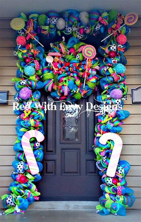 christmas decorations on the cheap dream book design save a lot of money diy your christmas front door with