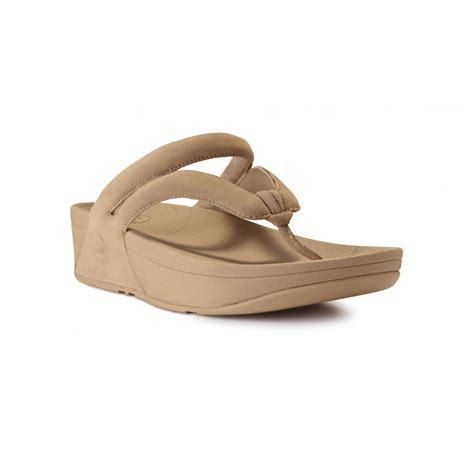 fitflop sandals fitflop whirl maple sugar suede sandal fitflop from