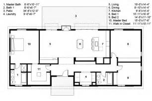 Ranch Style Floor Plan 3 Bedroom Ranch Style House Plans Ideas Ranch House Design