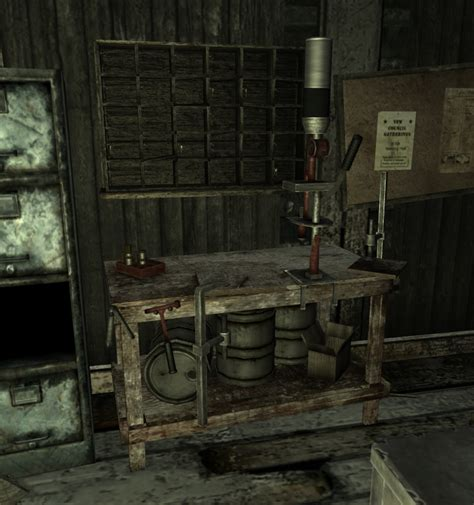 fallout new vegas reloading bench image reloadingbench png the fallout wiki fallout