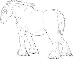 coloring pages of draft horses draft horse coloring pages freecoloring4u com