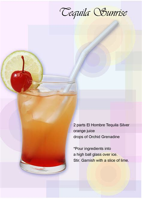 tequila sunrise recipe