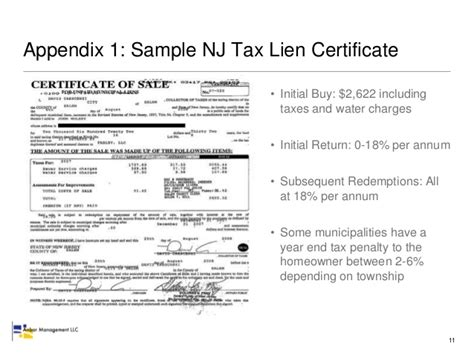 buying a house with a tax lien how to buy tax liens in new jersey