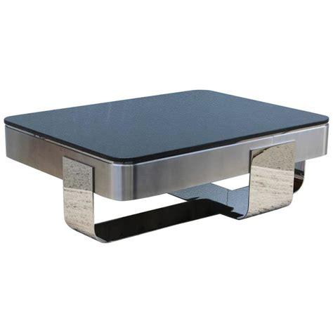 granite tables for sale brueton polished steel with granite top coffee table for
