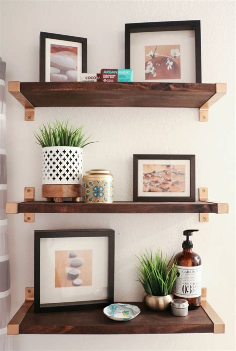 ikea hack shelves hack it walnut and gold shelves a kailo chic life