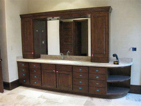 Ideas For Bathroom Cabinets by Bathroom Cabinet Designs Photos Thraam Com