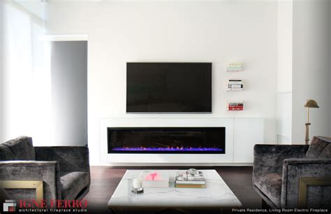 Living Room With Electric Fireplace by Toronto S Best Modern Fireplaces Store In Toronto Gas