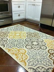 Kitchen Area Rugs Kitchen Rug Purchased From Overstock Blue Grey Yellow Brown Home Decor Kitchen Decor