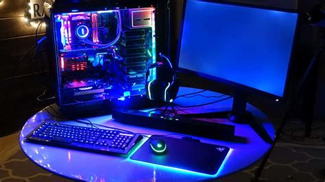 rgb light pc building the glowing rgb pc gamespot
