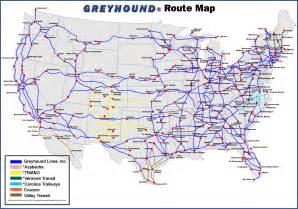 greyhound canada map
