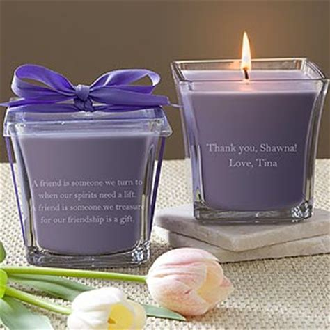 Wedding Gift Candles by Personalized Bridesmaid Gift Candles Wedding Gifts