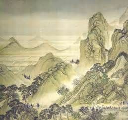 japanese landscape painting the tsubo en tsukiyama artificial