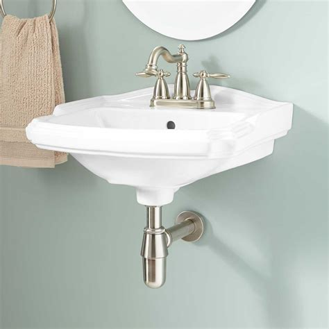 porcelain bathroom sinks halden porcelain wall mount bathroom sink bathroom