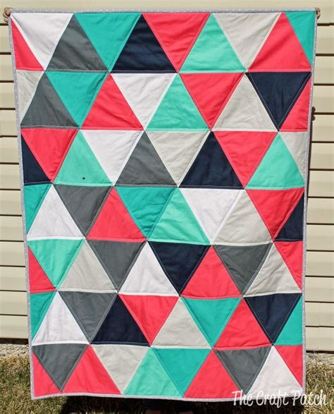 pattern for equilateral triangle 81 best triangle quilts images on pinterest triangle