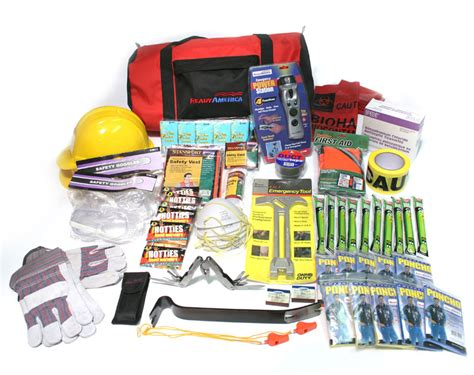 earthquake kit site safety kit