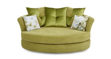 dfs cuddler sofa dfs corinne lime green fabric cuddler sofa 182740 ebay