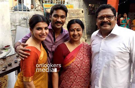 actor nithin sathya movies list thanga magan stills photos dhanush amy jackson samantha