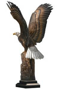 enduring spirit eagle statue chester fields bronzes inc