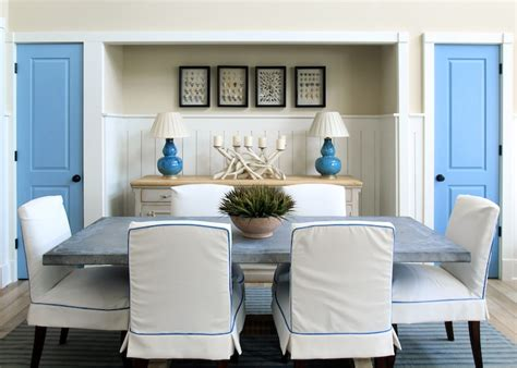 inspirations on the horizon coastal rooms with nautical inspirations on the horizon coastal chic dining rooms