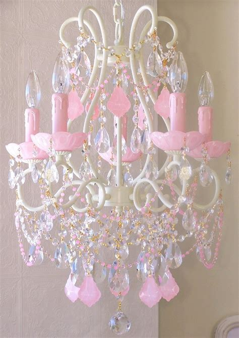 Girly Chandeliers Pink Girly Chandelier All Things Pink Girly