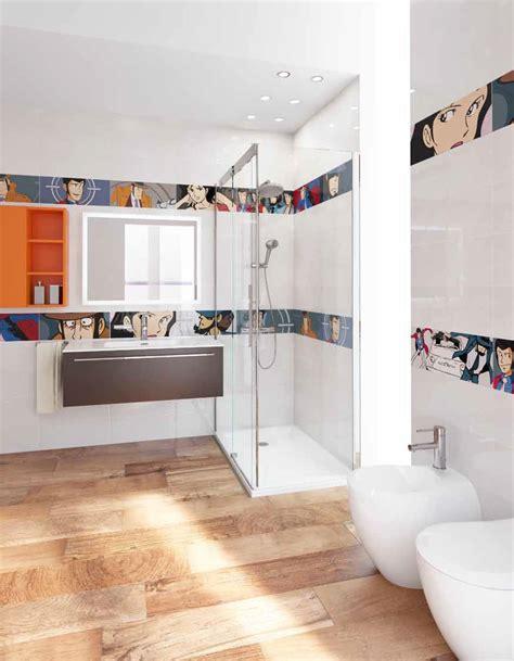 immagini piastrelle bagni piastrelle di lupin iii per bagno cucina e ambienti pubblici