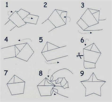 cara membuat origami bintang ninja salam jomblo