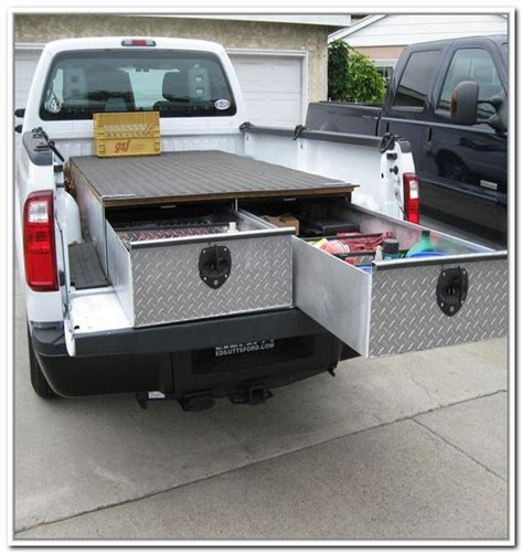 cargo boxes for truck beds truck storage box truck storage drawers for service