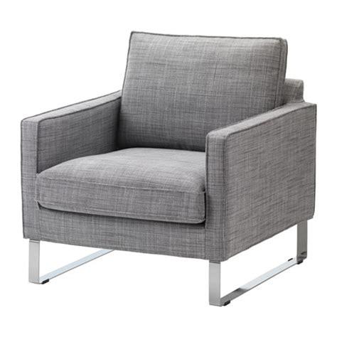 mellby fauteuil isunda gris ikea