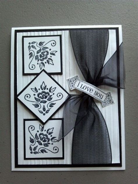 Black And White Handmade Cards - black white cards and handmade cards on