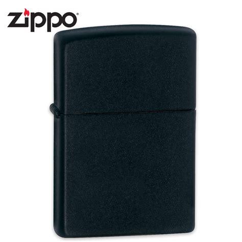 Zippo Lighter Matte zippo black matte lighter chkadels survival