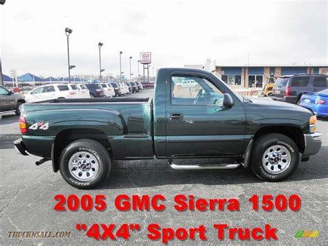 how to work on cars 2005 gmc sierra 3500 engine control 2005 gmc sierra 1500 work truck regular cab 4x4 in polo green metallic photo 4 166217 truck
