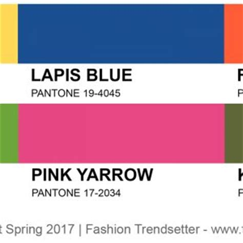 color of the year 2017 fashion pantone colors fashion trendsetter