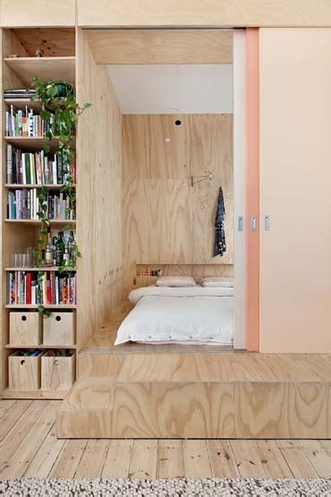 One Bedroom Apartment Renovation Built In Bookshelves Plywood One Bedroom Apartment Remodeling