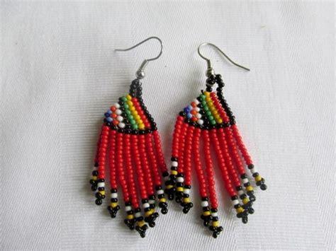 shared treasures boutique bead dangle earrings
