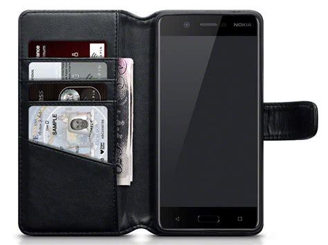 Nokia 5 Nokia Dermatogryph Armor Autofocus Leather Nokia5 nokia 5 hoesje echt leer caseboutique leather bookcas