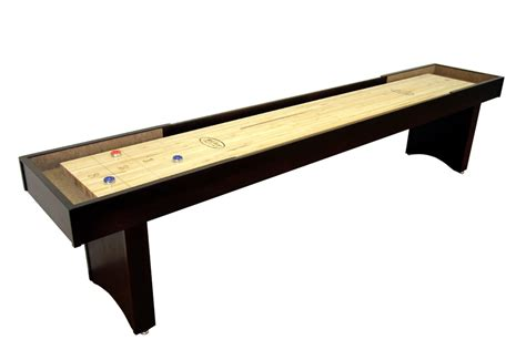 12 foot competitor ii shuffleboard table mcclure tables
