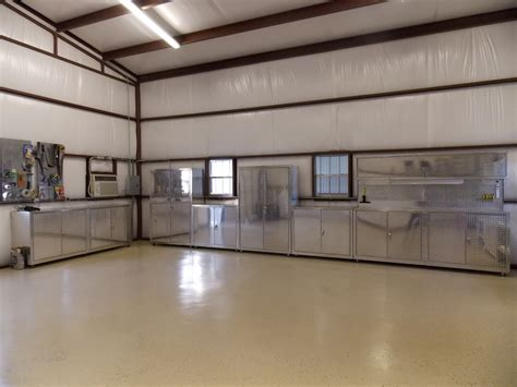 big foot garage cabinets car guy garage 32 feet of plate cabinets