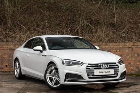Buy Audi A5 Coupe by 2017 Audi A5 Coupe Quattro 2dr Diesel White Dualclutch Ebay
