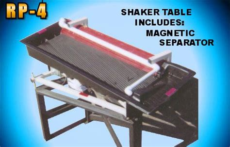 u tech shaker table rp 4