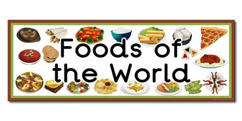 foods from around the world international cuisine ulearn school dublin