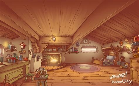 s house interiors geppetto s house interior by ianar on deviantart