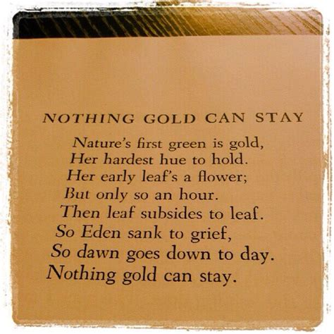 dramanice nothing gold can stay 1000 ideas about stay gold poem on pinterest robert