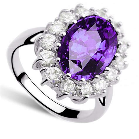 Princess Same Paragraph Sapphire Ring 8 Cincin Berlian Blue princess same paragraph sapphire ring 9 cincin berlian